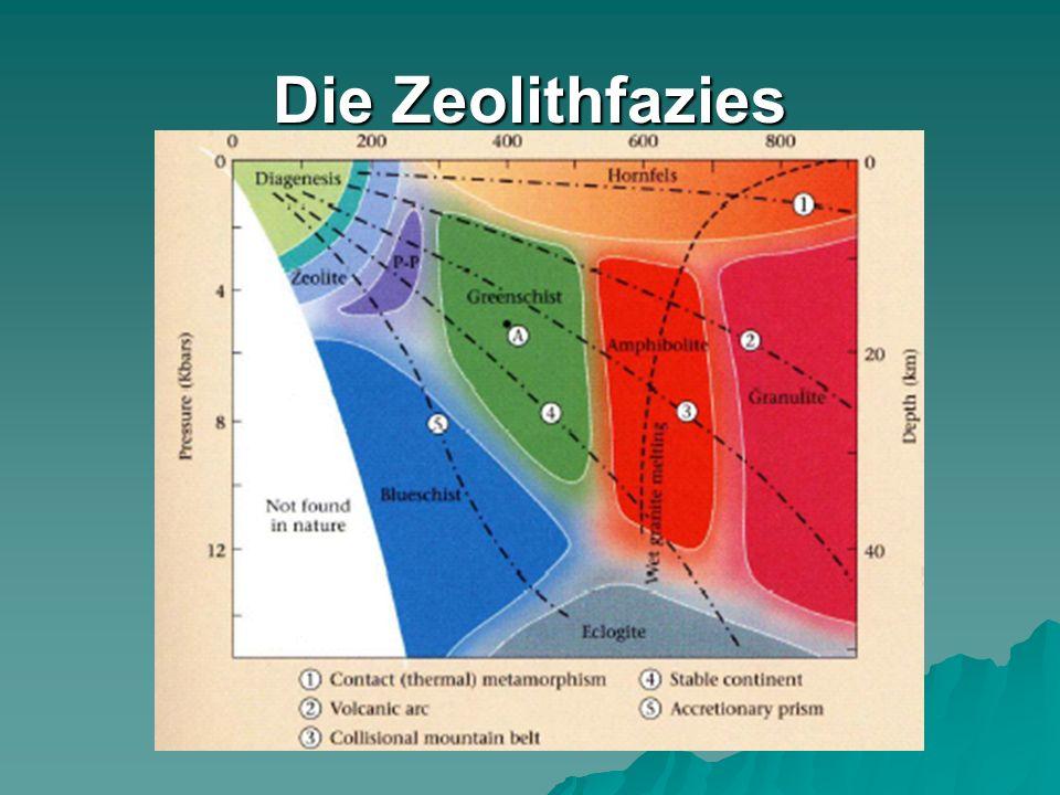 Die Zeolithfazies