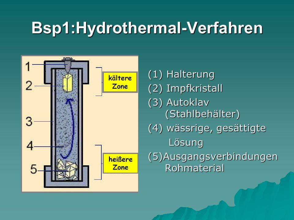 Bsp1:Hydrothermal-Verfahren