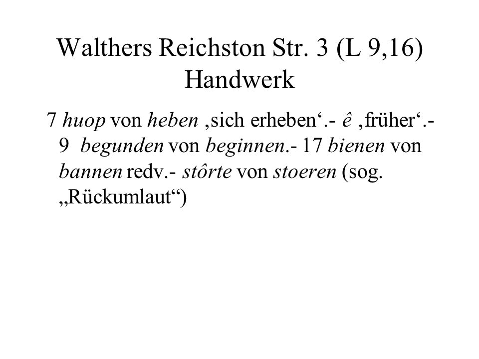 Walthers Reichston Str. 3 (L 9,16) Handwerk