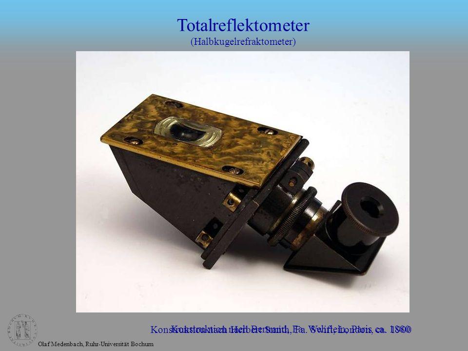 Totalreflektometer (Halbkugelrefraktometer)