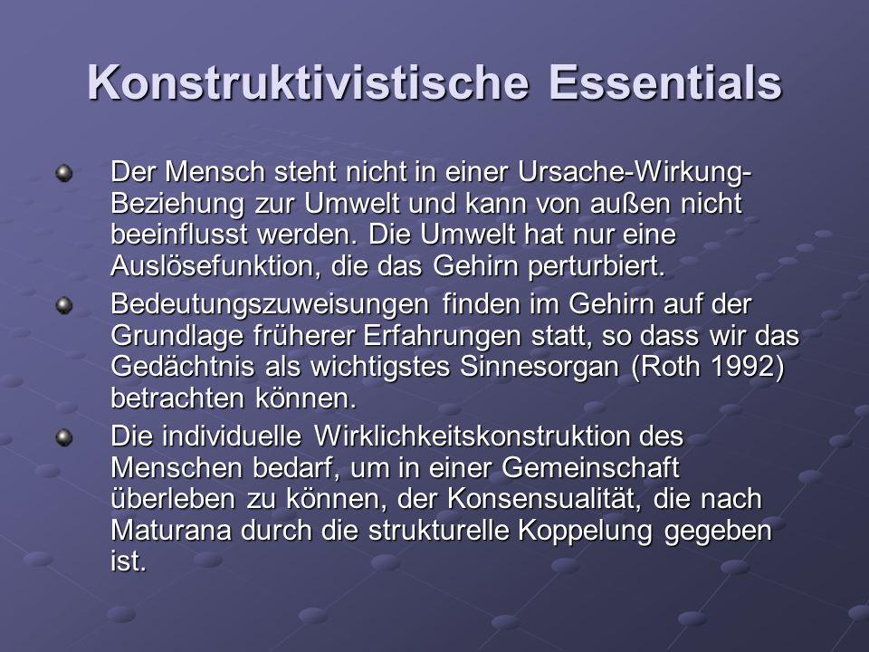 Konstruktivistische Essentials