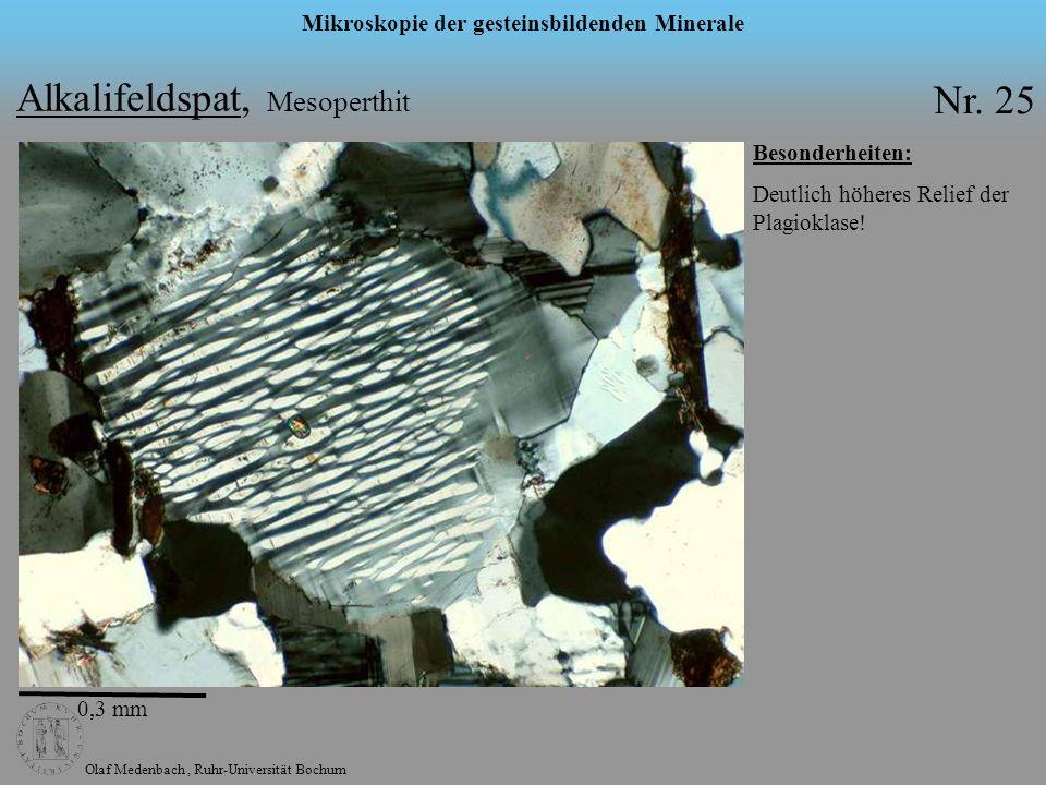 Alkalifeldspat, Mesoperthit Nr. 25