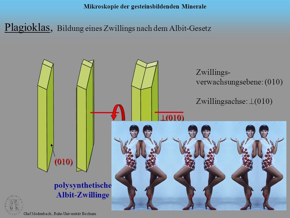 polysynthetische Albit-Zwillinge