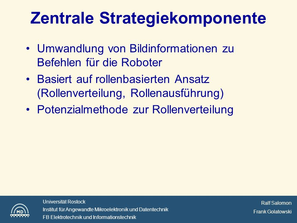 Zentrale Strategiekomponente