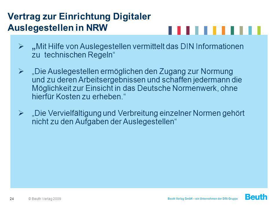 Vertrag zur Einrichtung Digitaler Auslegestellen in NRW