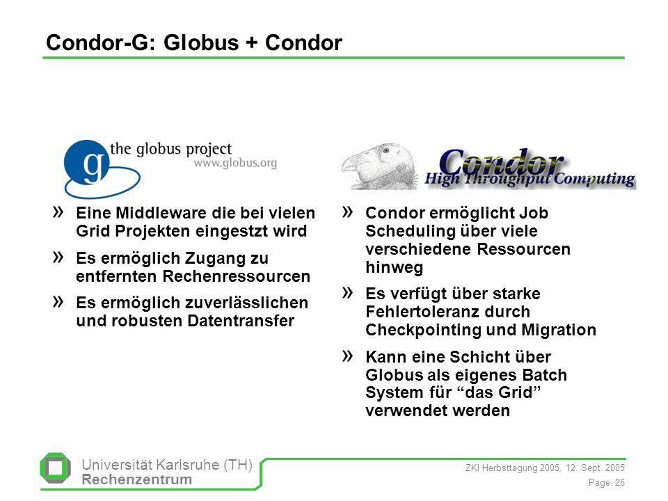 Condor-G: Globus + Condor