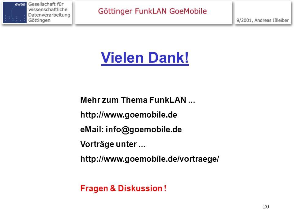 Vielen Dank! Mehr zum Thema FunkLAN ... http://www.goemobile.de