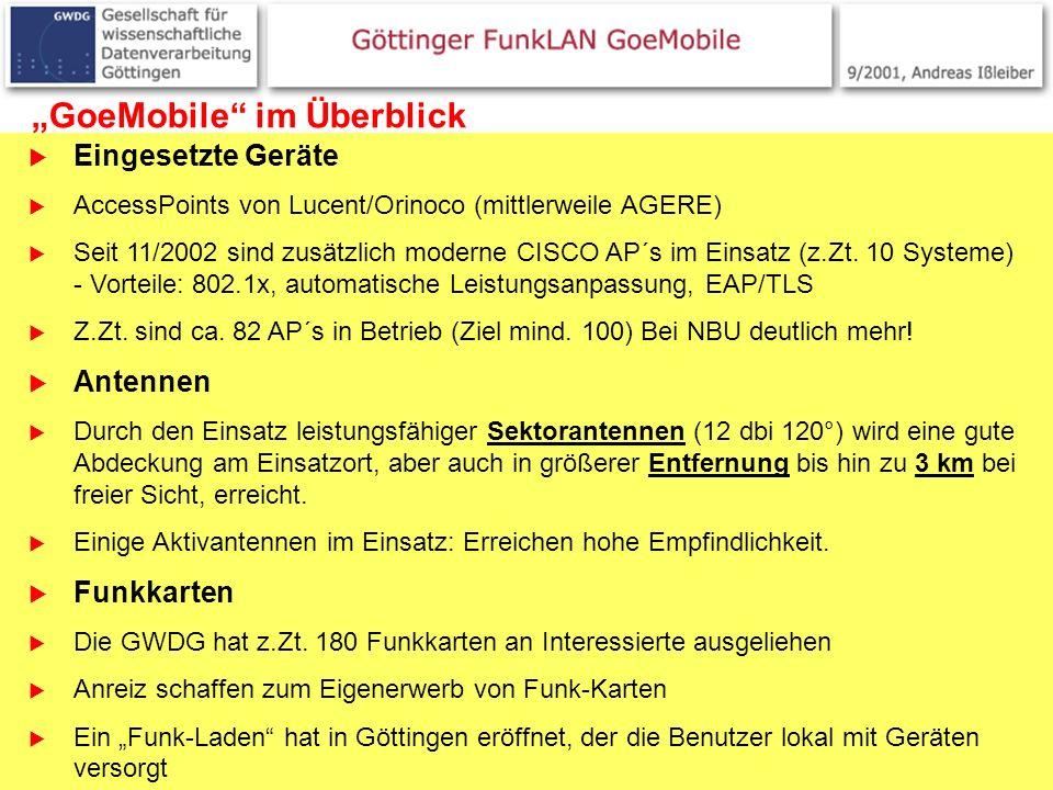 """""""GoeMobile im Überblick"""