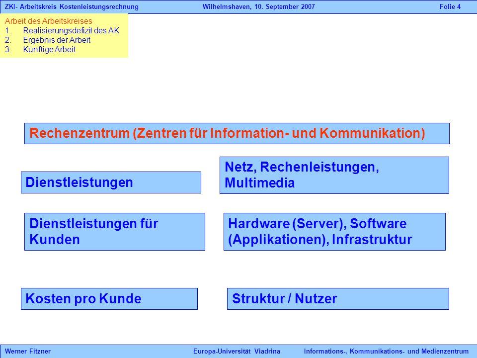 Rechenzentrum (Zentren für Information- und Kommunikation)
