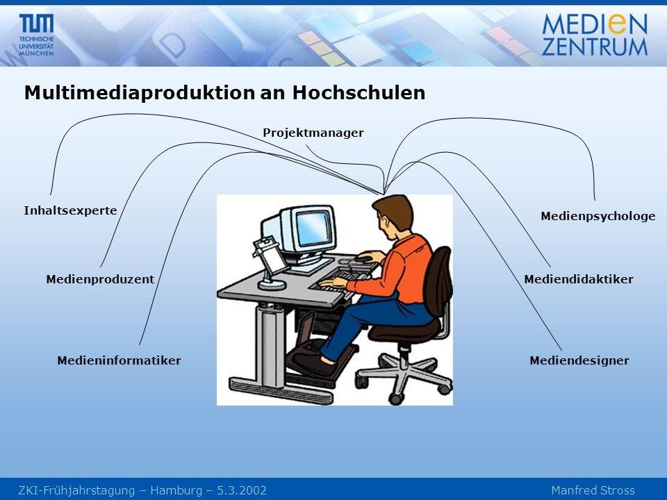 Multimediaproduktion an Hochschulen