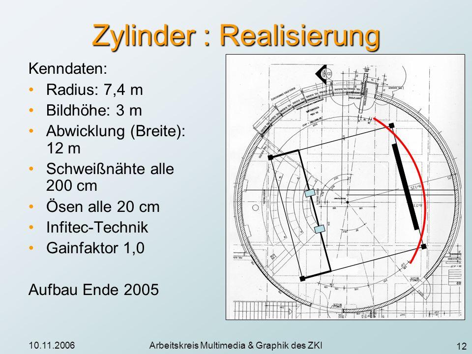 Zylinder : Realisierung