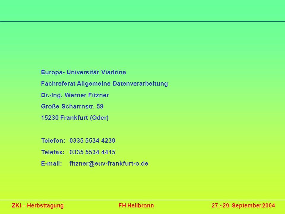 Europa- Universität Viadrina