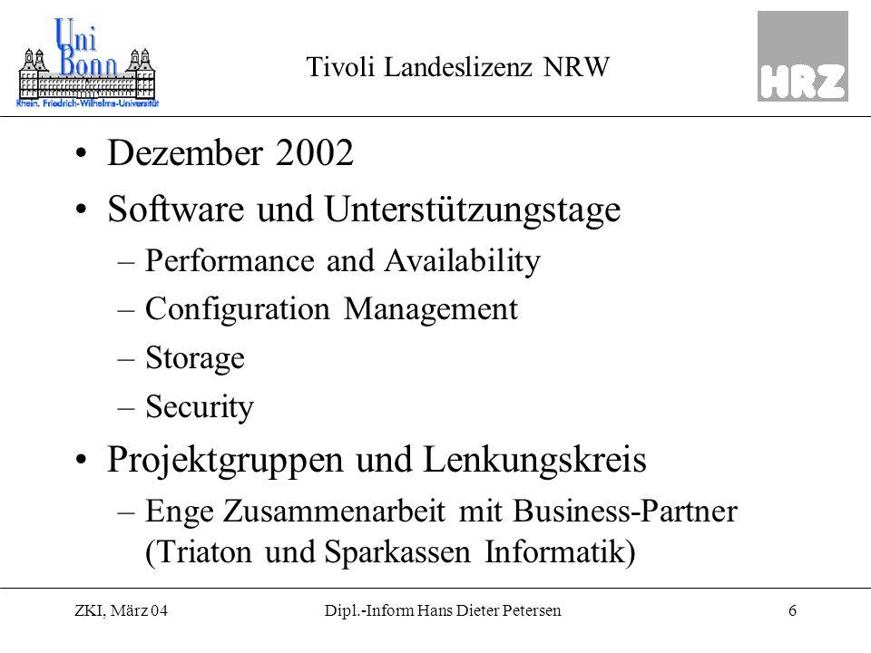 Tivoli Landeslizenz NRW