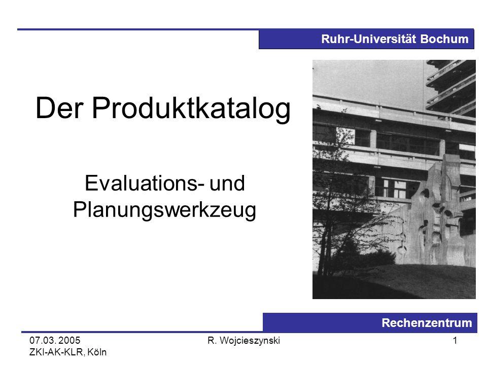 Evaluations- und Planungswerkzeug