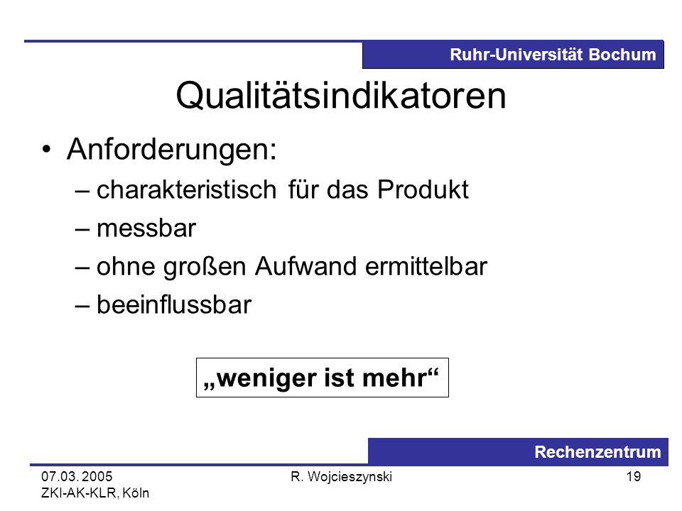 Qualitätsindikatoren