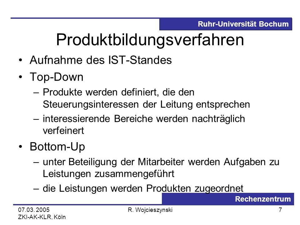 Produktbildungsverfahren