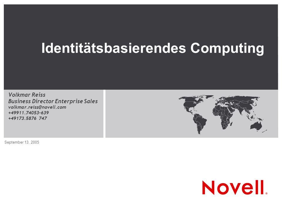 Identitätsbasierendes Computing