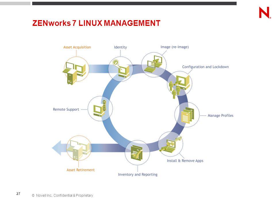 ZENworks 7 LINUX MANAGEMENT