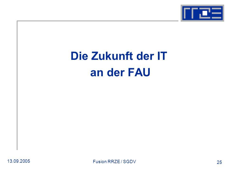 Die Zukunft der IT an der FAU