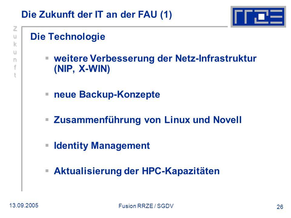 Die Zukunft der IT an der FAU (1)