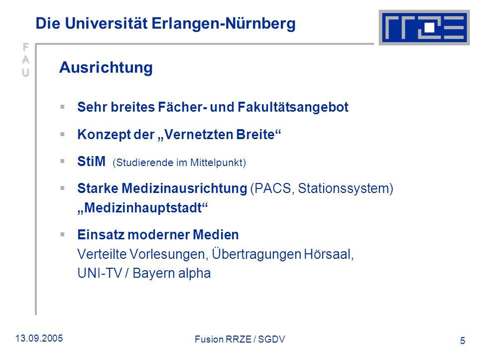 Die Universität Erlangen-Nürnberg