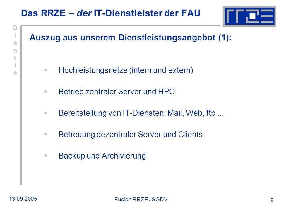 Das RRZE – der IT-Dienstleister der FAU