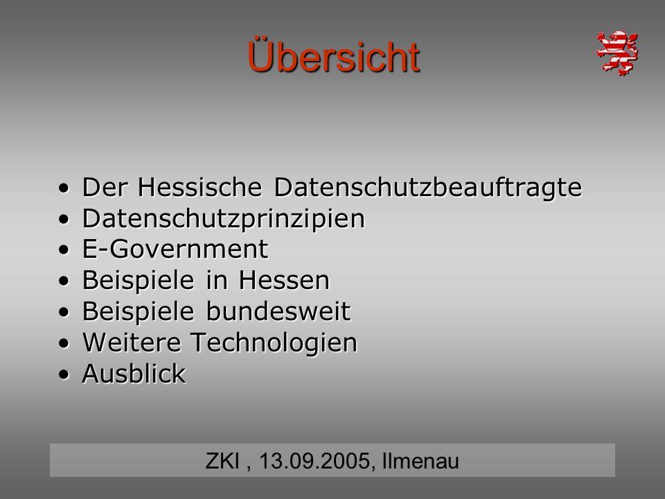 Übersicht Der Hessische Datenschutzbeauftragte Datenschutzprinzipien