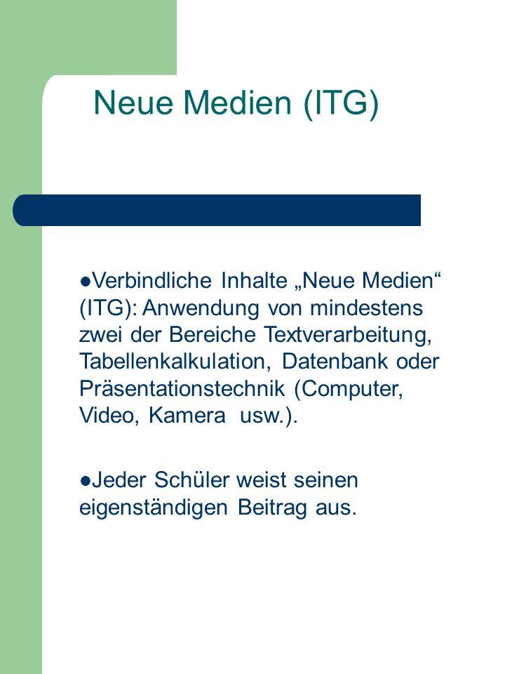 Neue Medien (ITG)