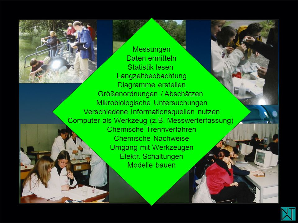 Größenordnungen / Abschätzen Mikrobiologische Untersuchungen
