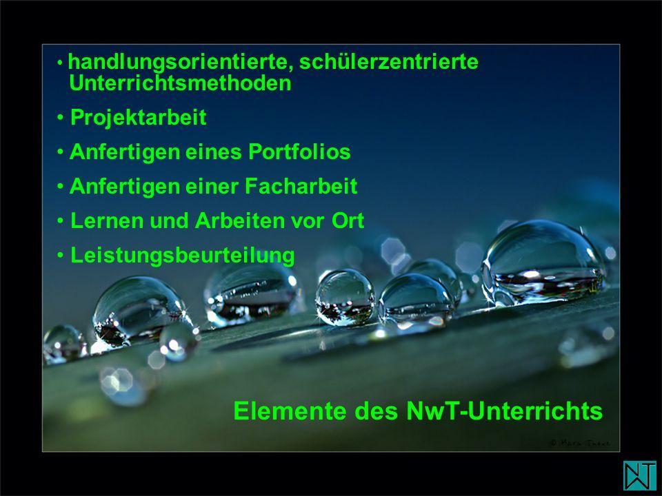 Elemente des NwT-Unterrichts