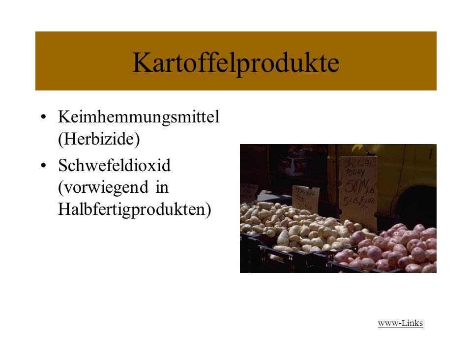 Kartoffelprodukte Keimhemmungsmittel (Herbizide)