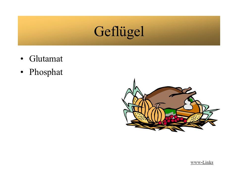 Geflügel Glutamat Phosphat www-Links