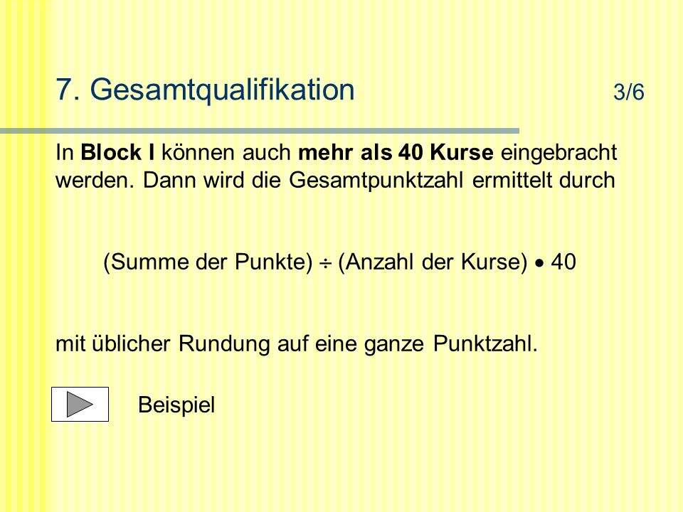 7. Gesamtqualifikation 3/6