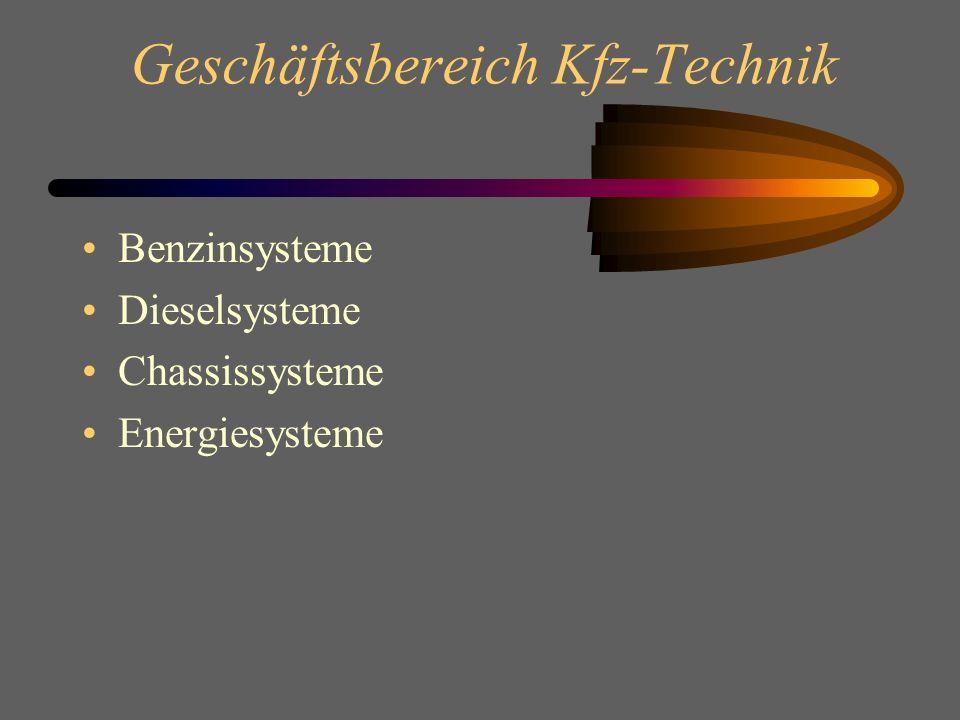 Geschäftsbereich Kfz-Technik