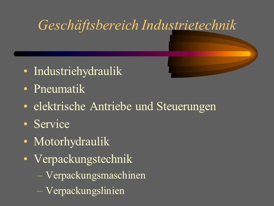 Geschäftsbereich Industrietechnik