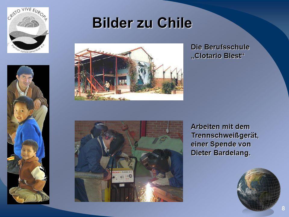 """Bilder zu Chile Die Berufsschule """"Clotario Blest Arbeiten mit dem"""