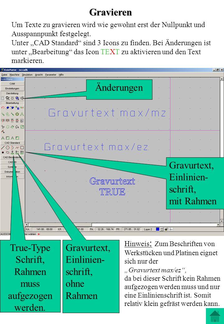 True-Type Schrift, Rahmen muss aufgezogen werden.