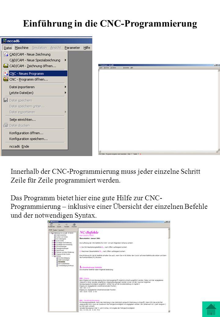 Einführung in die CNC-Programmierung