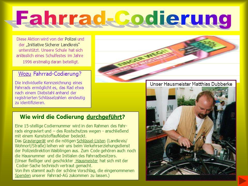 Unser Hausmeister Matthias Dubberke