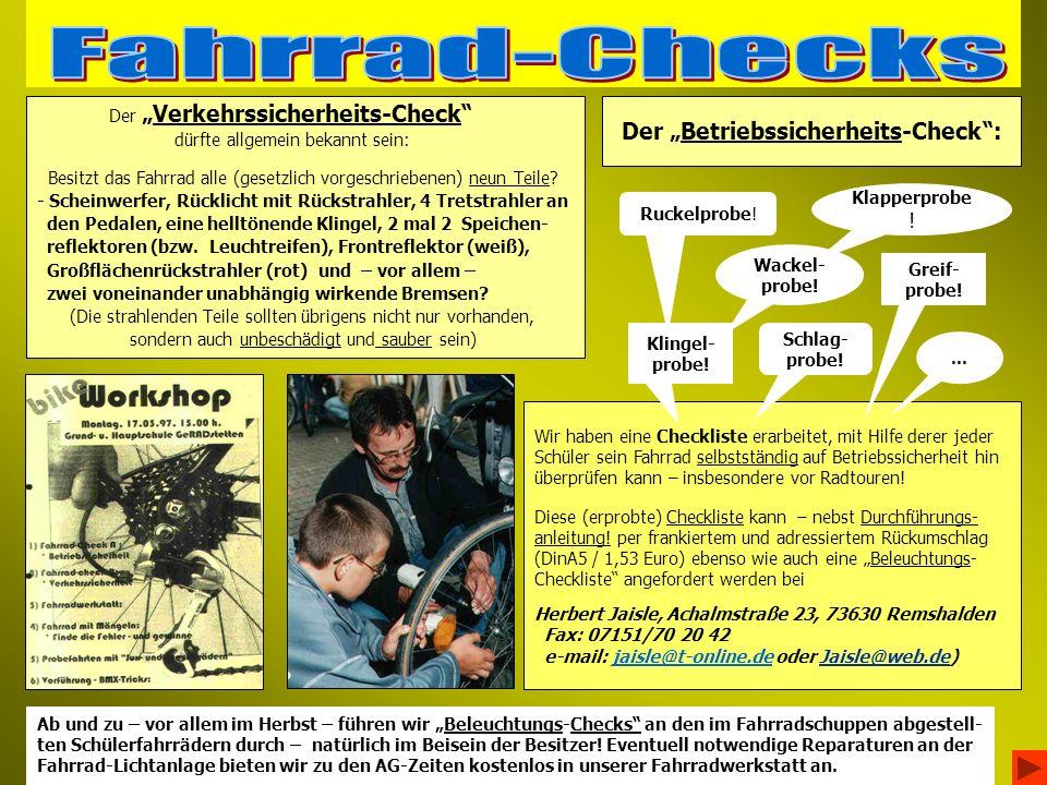 """Der """"Betriebssicherheits-Check :"""