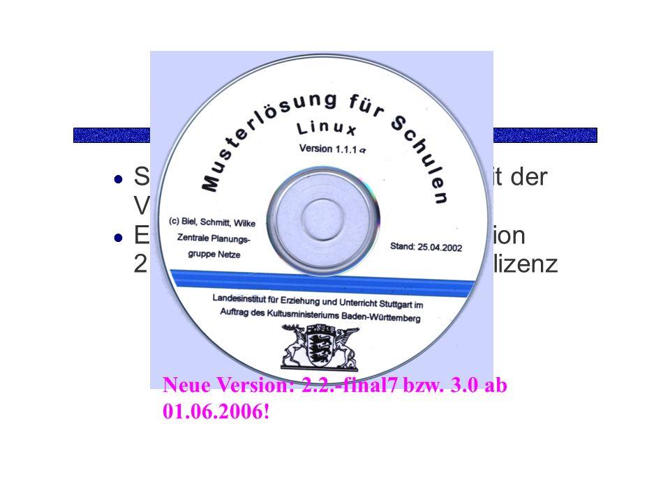 Die CD Sie benötigen die Grund-CD mit der Version 1.1.1