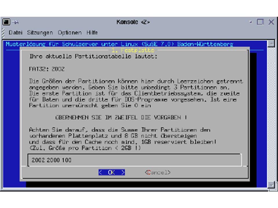 Client über PXE starten