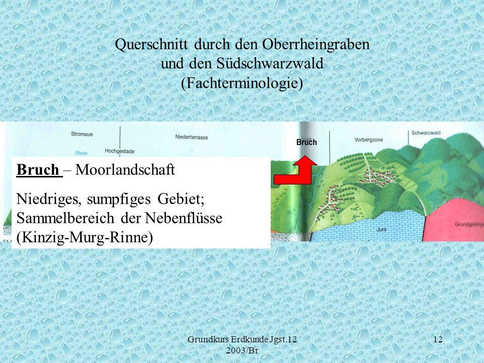 Grundkurs Erdkunde Jgst.12 2003/Br