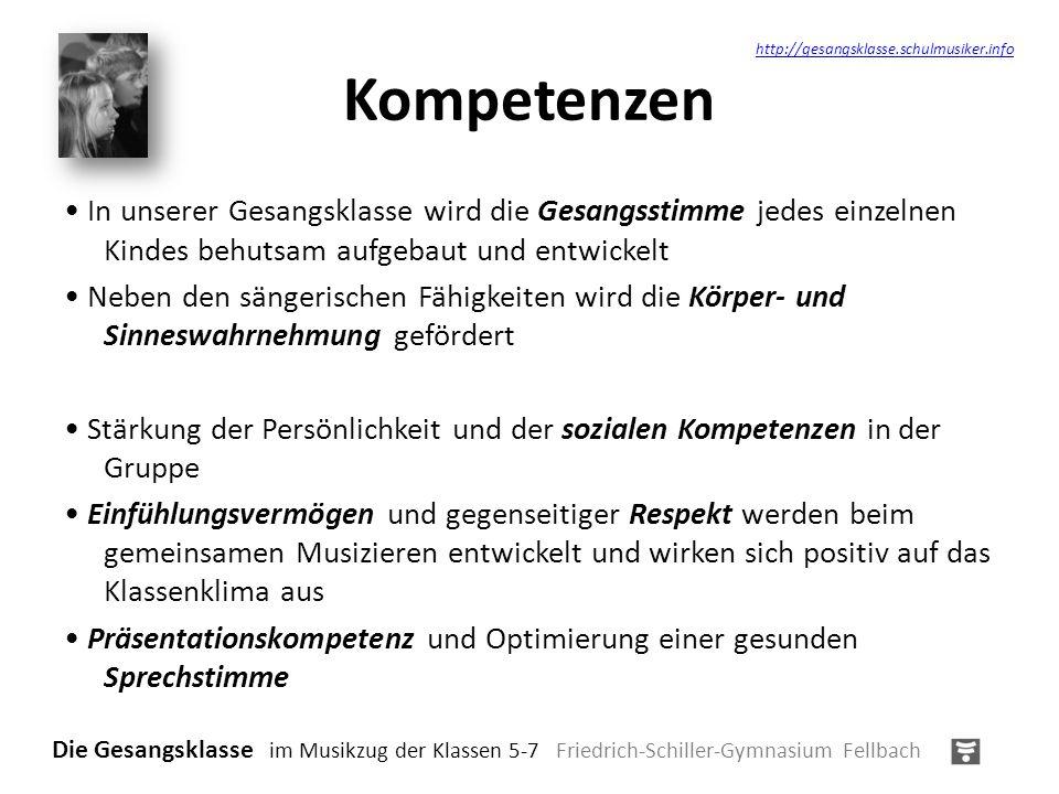 Kompetenzen http://gesangsklasse.schulmusiker.info.
