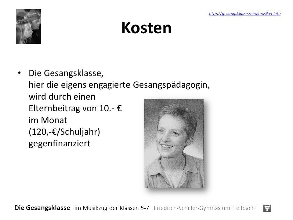 Kosten http://gesangsklasse.schulmusiker.info.