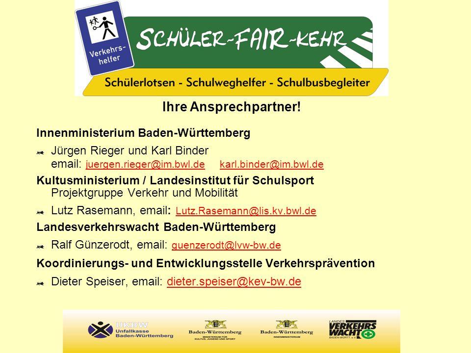 Ihre Ansprechpartner! Innenministerium Baden-Württemberg