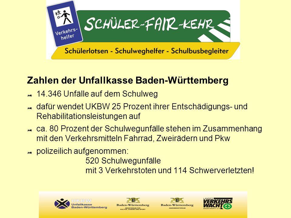 Zahlen der Unfallkasse Baden-Württemberg