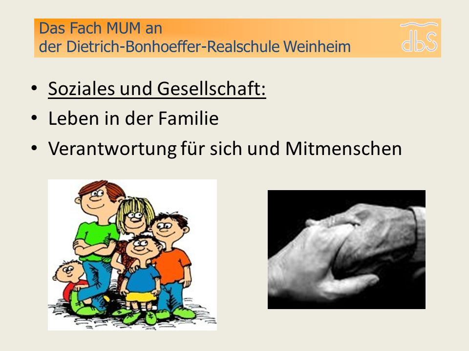 Soziales und Gesellschaft: Leben in der Familie