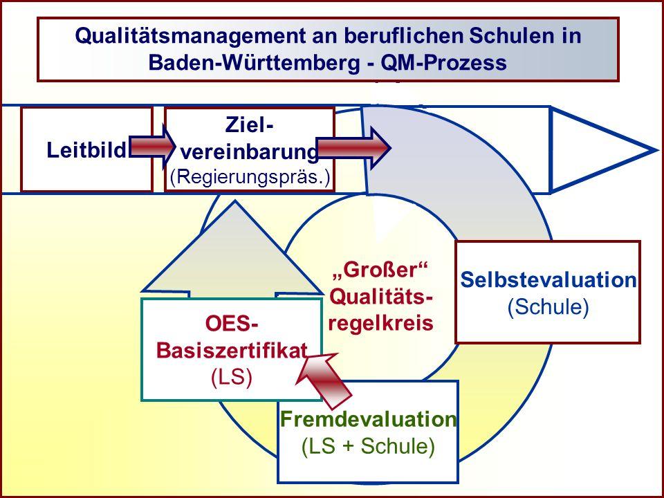 Qualitätsmanagement an beruflichen Schulen in Baden-Württemberg - QM-Prozess