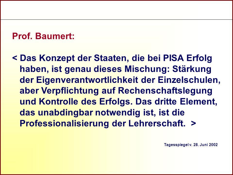 Prof. Baumert:
